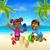 children playing on the beach stock photo © krisdog