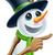 Cute · счастливым · снеговик · лице · снег · Рождества - Сток-фото © krisdog