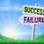 success or failure sign in field stock photo © krisdog