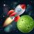 raket · ruimte · sterren · hemel · wetenschap · star - stockfoto © krisdog