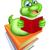 boekenworm · rups · worm · boek · cute - stockfoto © krisdog