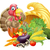 thumbs up turkey and cornucopia stock photo © krisdog
