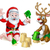 santa and reindeer christmas summer beach stock photo © krisdog