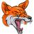 Fox · mascotte · vecteur · graphique · visage · image - photo stock © krisdog