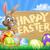 Easter · Bunny · ei · teken · cartoon · mand · paaseieren - stockfoto © Krisdog
