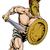 grec · trojan · romaine · soldat · mascotte - photo stock © krisdog