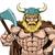 viking warrior holding axe stock photo © krisdog