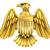 golden american eagle shield stock photo © krisdog