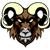 ram mean animal mascot stock photo © krisdog