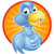 twitter · kék · madár · ikon · csipogás · szimbólum - stock fotó © krisdog