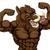 boar razorback mascot stock photo © krisdog