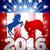 politică · american · alegere · măgar · vs · elefant - imagine de stoc © krisdog