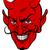 devil cartoon face stock photo © krisdog