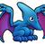 pterodactyl dinosaur cartoon character stock photo © krisdog