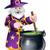 cartoon halloween wizard stock photo © krisdog