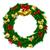 Natale · ghirlanda · frutti · di · bosco · illustrazione · colorato - foto d'archivio © krisdog