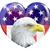 kopasz · sas · fej · amerikai · csillagok · csíkok - stock fotó © krisdog