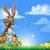 easter egg hunt bunny stock photo © krisdog