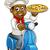 pizza · szakács · házhozszállítás · férfi · doboz · kék - stock fotó © krisdog