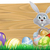 Conejo · de · Pascua · conejo · huevos · de · Pascua · cesta · Pascua · completo - foto stock © krisdog