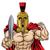 жесткий · спартанский · мышечный · троянский · талисман · характер - Сток-фото © krisdog