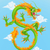 vector · traditioneel · asian · draken · ontwerp · achtergrond - stockfoto © krisdog