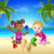 tropical beach family holiday stock photo © krisdog