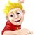 indonezyjski · chłopca · czerwony · shirt · ilustracja · szczęśliwy - zdjęcia stock © krisdog