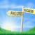 success or failure sign concept stock photo © krisdog