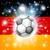 Almanya · bayrak · futbol · topu · vektör · dünya · futbol - stok fotoğraf © krisdog