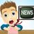 телевизор · вещать · Новости · СМИ · телевидение - Сток-фото © krisdog