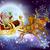 santa claus sleigh christmas scene stock photo © krisdog