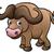 aranyos · szafari · Afrika · állatok · szett · izolált - stock fotó © krisdog