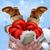 santa stuck in a chimney stock photo © krisdog