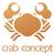 caranguejo · ícone · estilo · isolado · branco · clip-art - foto stock © krisdog