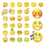 szett · férfi · fej · arckifejezés · illusztráció · mosoly - stock fotó © krisdog