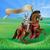 ridder · middeleeuwse · paardenrug · man · macht · soldaat - stockfoto © krisdog