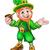 carácter · día · de · san · patricio · Irlanda · vector - foto stock © krisdog