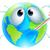 világ · földgömb · rajz ·  · kéz · szem - stock fotó © krisdog