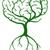 verde · cerebro · árbol · vector · pensar · ecológico - foto stock © krisdog