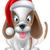 pequeno · cão · seis · cara · projeto · fundo - foto stock © krisdog