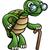 elderly tortoise cartoon character stock photo © krisdog