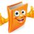 cartoon thumbs up book stock photo © krisdog
