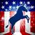 democrata · burro · desenho · animado · ícone · democrático · sorridente - foto stock © krisdog