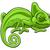 camaleão · lagarto · crianças · criança - foto stock © krisdog