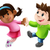 two cartoon dancers dancing stock photo © krisdog