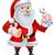 christmas · cartoon · illustratie · kerstman - stockfoto © krisdog