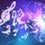 müzik · notaları · neon · ses · tanıtım · parti · arka · plan - stok fotoğraf © krisdog