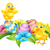 Cartoon · objetos · aislados · sonrisa · huevo · aves - foto stock © krisdog