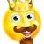 king emoji emoticon stock photo © krisdog
